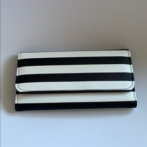 NWT kut from Kloth slim striped wallet